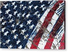 Grand Ol' Flag Acrylic Print by Bill Owen