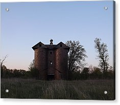 Acrylic Print featuring the photograph Grand Old Silo by Gerald Strine