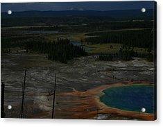 Grand Prismatic Spring Yellowstone National Park Acrylic Print