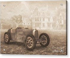 Grand Prix Racing Car 1926 Acrylic Print by Jutta Maria Pusl