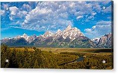 Grand Teton Vista Acrylic Print