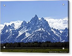 Grand Tetons 2 Acrylic Print by Charles Warren