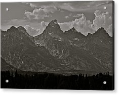 Acrylic Print featuring the photograph Grand Tetons by Eric Tressler
