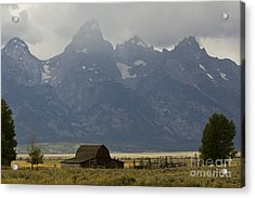 Grand Tetons Jackson Wyoming Acrylic Print by Dustin K Ryan