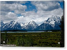Grand Tetons Acrylic Print by Lauren MacIntosh