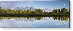 Grand Tetons Panoramic Acrylic Print