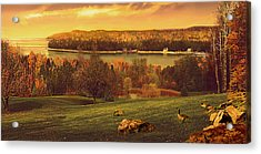 Grand View Acrylic Print by Doug Kreuger