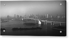 Grand View Of Tokyo Acrylic Print
