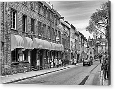 Acrylic Print featuring the photograph Grande Allee by Eunice Gibb