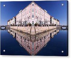 Grande Canal Trieste Acrylic Print