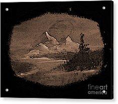 Grandeur Acrylic Print by Crystal June Norton
