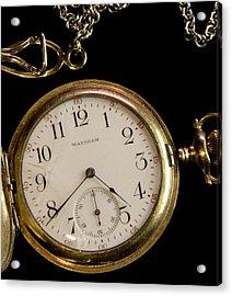 Acrylic Print featuring the photograph Grandpa's Watch I by Michael Friedman