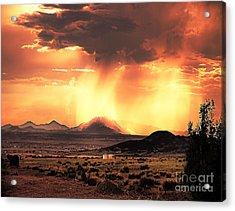 Granite Mountain Acrylic Print by Arne Hansen