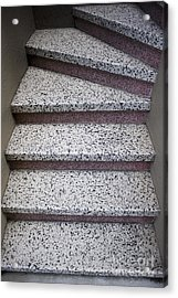 Granite Stairs Acrylic Print by Sam Bloomberg-rissman