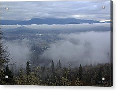 Grants Pass Weather Acrylic Print by Mick Anderson