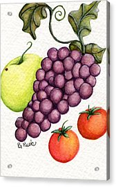 Grape Salad Acrylic Print