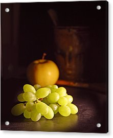 Grapes  Acrylic Print by Davor Sintic