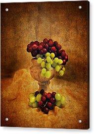 Grapes Acrylic Print by Jai Johnson