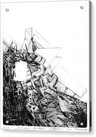 Graphics Europa 2014 Acrylic Print by Waldemar Szysz