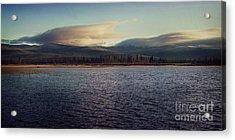 Gravel Lake Acrylic Print