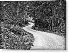 Gravel Road Acrylic Print