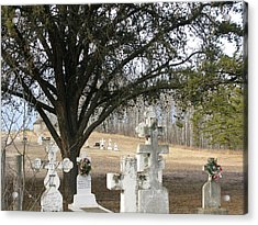 Acrylic Print featuring the photograph Graveyard by Brian Sereda