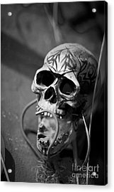 Graveyard  Acrylic Print by Leslie Leda