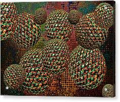 Gravity Chamber Acrylic Print by Debbie Portwood