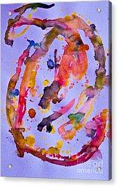 Gray Acrylic Print by Bill Davis