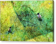 Grazing The Pollock Field Acrylic Print by Jean Moore