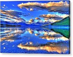 Great Glacier Lake Acrylic Print by Scott Mahon