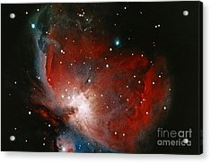 Great Nebula In Orion Acrylic Print by Science Source
