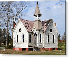 Great Old Church Acrylic Print