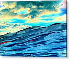 Great Sand Dunes Acrylic Print by Daniel Dodd