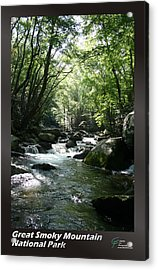 Great Smoky Mountains Np 005 Acrylic Print by Charles Fox