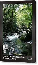 Great Smoky Mountains Np 006 Acrylic Print by Charles Fox