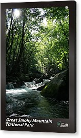 Great Smoky Mountains Np 008 Acrylic Print by Charles Fox