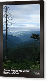 Great Smoky Mountains Np 009 Acrylic Print by Charles Fox