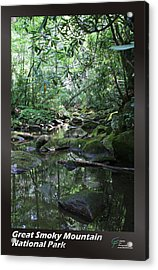 Great Smoky Mountains Np 010 Acrylic Print by Charles Fox