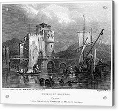 Greece: Negropont, 1833 Acrylic Print by Granger