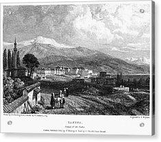 Greece: Yanina, 1833 Acrylic Print by Granger