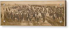 Greek Refugees Were Forced Acrylic Print by Everett