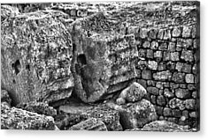 Greek Ruins  Acrylic Print by Thomas Kessler