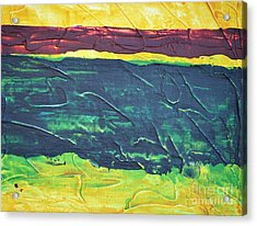 Green Canyon Acrylic Print