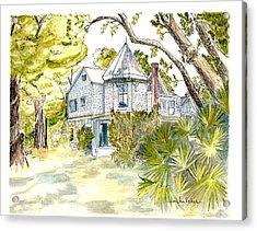 Green Gables Acrylic Print