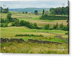 Green Hills Of Galloway Acrylic Print by John Kelly