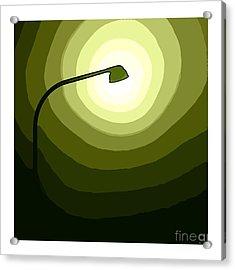 Green Is Hope Acrylic Print by Steve K