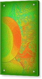Green Mango Bali Style Acrylic Print