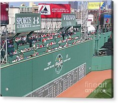 Green Monster Acrylic Print by Kevin Fortier