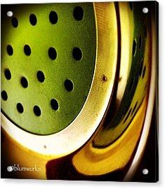 Green Rinse Acrylic Print